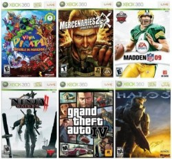 55% of Xbox 360 users download games