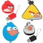 Angry Birds USB Flash Drive Keychains