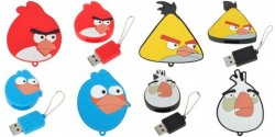 Angry Birds USB Flash Drive Keychains