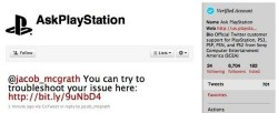 PlayStation now offering customer service via Twitter