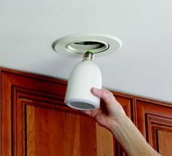 Audio Light Bulb from Hammacher