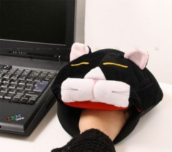 Mouse Pad with Cat Head and USB Heaterusepad-gg