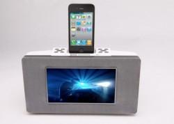 Avi Stylix iPod / iPhone docking station streams Netflix