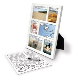 Comic Strip Picture Frame