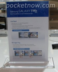 Samsung Galaxy Tab 8.9 revealed