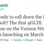 HTC Thunderbolt coming March 17th