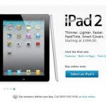 iPad 2 shows up on UK Apple Store