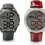 Phosphor Reveal watch uses Swarovski crystals to tell time
