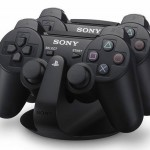 Sony outs DualShock 3 charging dock, candy blue gamepad