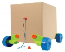 Rolobox, for kids more interested in the box, than the toy inside