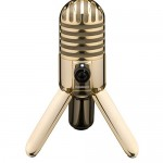 Samson 22k Gold Plated Meteor Mic available for Pre-order