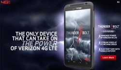 HTC Thunderbolt now available