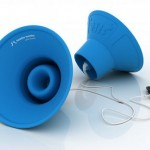 Trembo Trunks amplify your earbuds while using no power