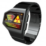 Tokyoflash radiation level LED watch