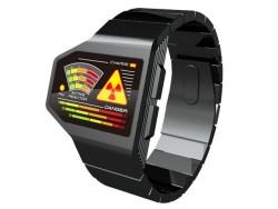Tokyoflash radiation level LED watch
