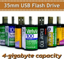 35mm film 4GB USB flash drive