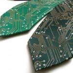 Circuit Board Neck Tie is Geek Chic