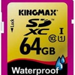 Kingmax Waterproof 64GB SDXC Memory Card