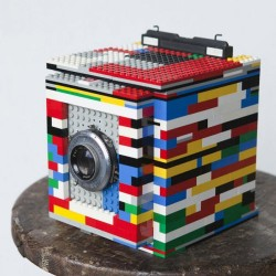 Legotron Medium Format Camera