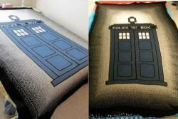 The TARDIS Blanket