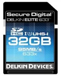 Delkin 633x Ultrafast SDHC Memory Cards