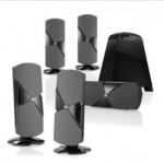 JBL Cinema 300 Speaker System and Cinema 500 Home Theater Speakers