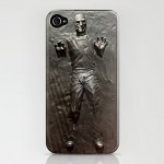 Steve Jobs trapped inside Carbonite iPhone Case