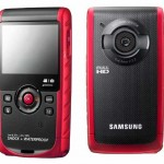 Samsung W200 shock + waterproof pocket cam with full HD video