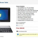 Acer Iconia W500 up for pre-order for $549