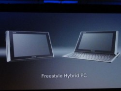 Sony Vaio Slider tablet and ultra-thin notebook teased