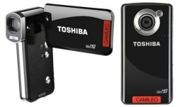 Toshiba Camileo P100 and B10 pocket camcorders