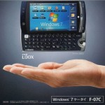 Fujitsu Loox F-07C Dual Booting Smartphone