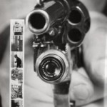 Revolver Camera shoots a bullet, takes a picture