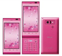 Sharps new AQUOS PHONE IS11SH 3D capable phone for Japanese females