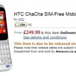 HTC Facebook phones, ChaCha and Salsa, available for Amazon pre-order