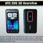 HTC EVO 3D pre-orders start today at RadioShack