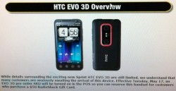 HTC EVO 3D pre-orders start today at RadioShack
