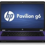 HP Pavilion g6s laptop with Sandy Bridge