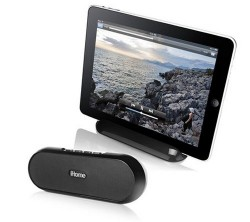 iHome iDM12 Rechargeable Portable Bluetooth Speaker System