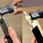 Consumer Reports says that the white iPhone 4 is not thicker