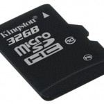 Kingston Class 10, 32GB microSDHC card