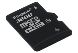 Kingston Class 10, 32GB microSDHC card