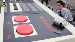 World's largest NES Controller actually works, if you are a giant