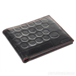 Qwerty Leather Wallet