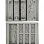 Star Wars Han Solo Carbonite Ice Cube Tray