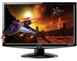 ViewSonic 24-inch V3D245wm-LED Monitor With Built-in 3D Emitter