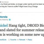 Motorola Droid Bionic Release Date Scheduled for This Summer