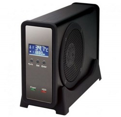 Century External HDD Enclosure With Cooling Fan And LCD Display
