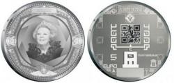 New Dutch coins have QR codes