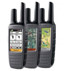 Garmin Rino 610, 650 and 655t handheld two-way radios with GPS